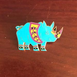 Disney Trading Pins whimsical rhino
